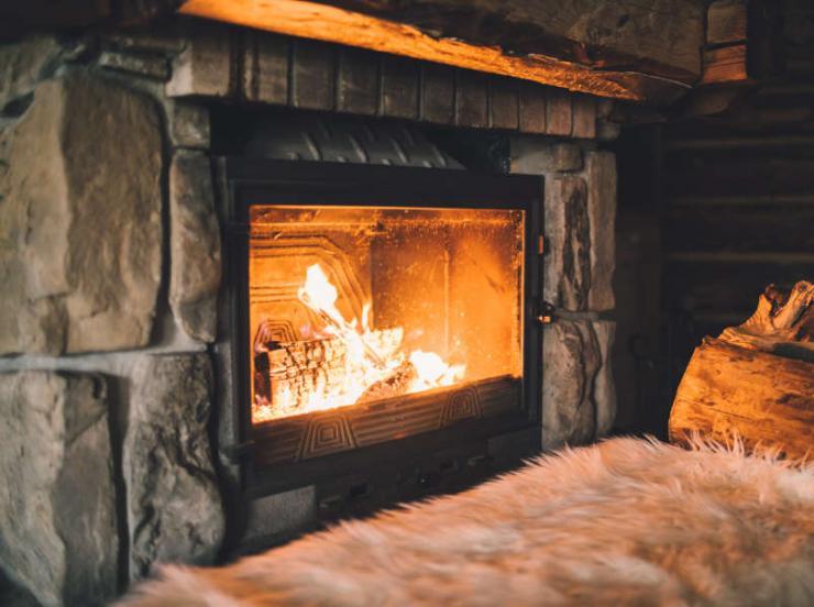 bois pour un feu de cheminée